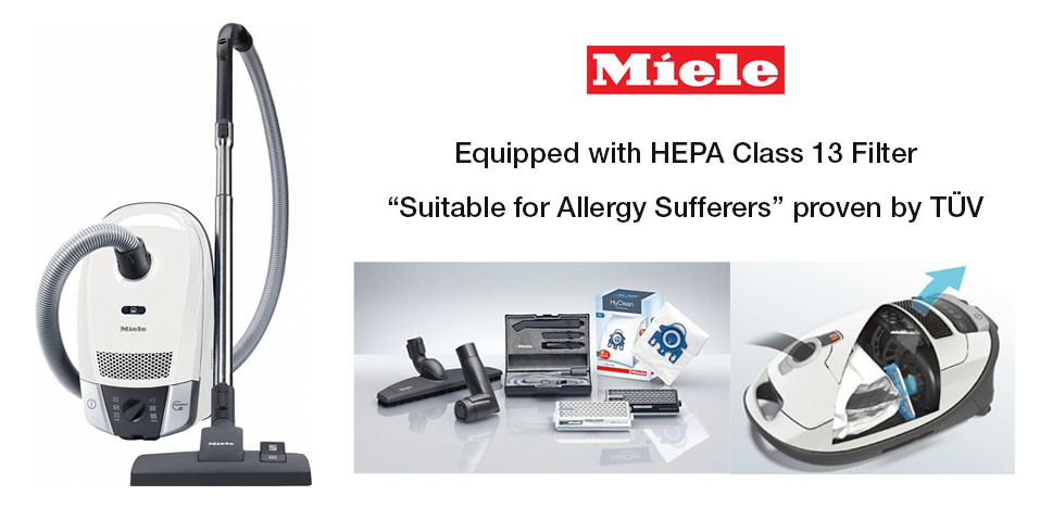 Miele Allergy Vacuum Cleaner HEPA 13 Filter