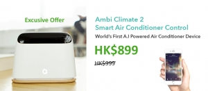 Johnson Group Air Conditioner Cleaning & Sanitizing Special Offer - Ambi Climate 2 Smart Air Con Controller