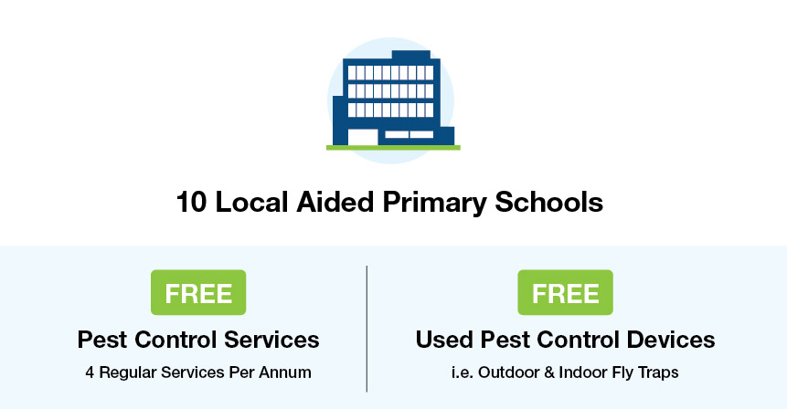Support Local Schools_Free Pest Control Services