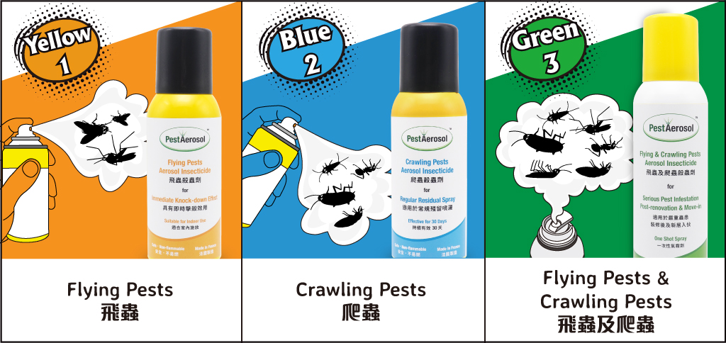 PestAerosol™ Flying & Crawling Pests Aerosol Insecticide