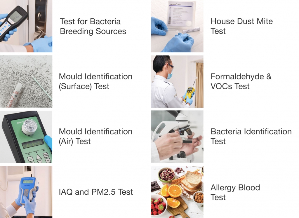 Johnson Group Allergy & Allergens Tests; The Fastest services to locate allergens