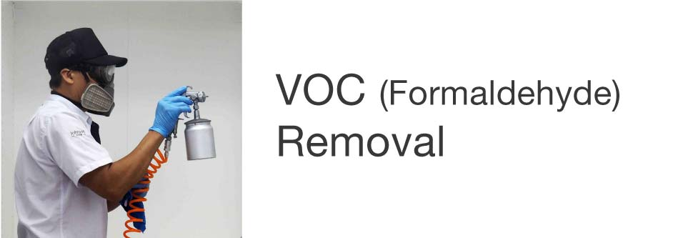 VOC (Formaldehyde) Removal after Renovation - Johnson Group