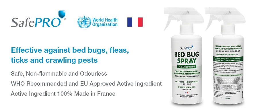 SafePRO® Bed Bug Spray