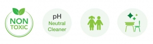 Benefits of SmellGREEN Natural Disinfectant